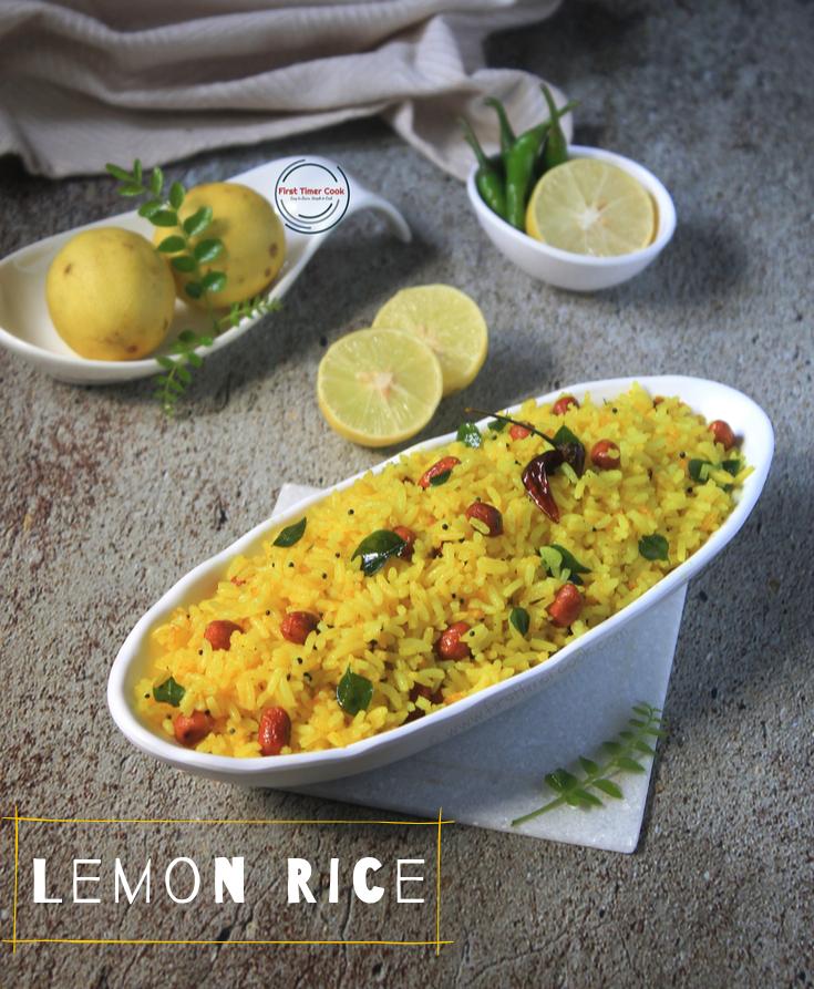 Lemon Rice (no Onion and no Garlic)