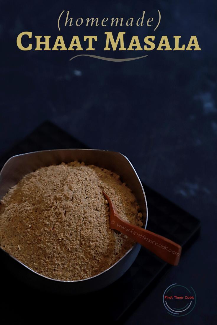 Homemade Chaat Masala Powder