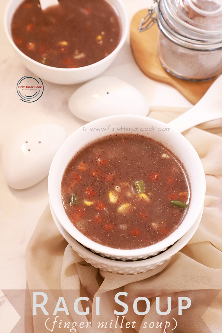 Ragi Soup (Vegan & Gluten free)
