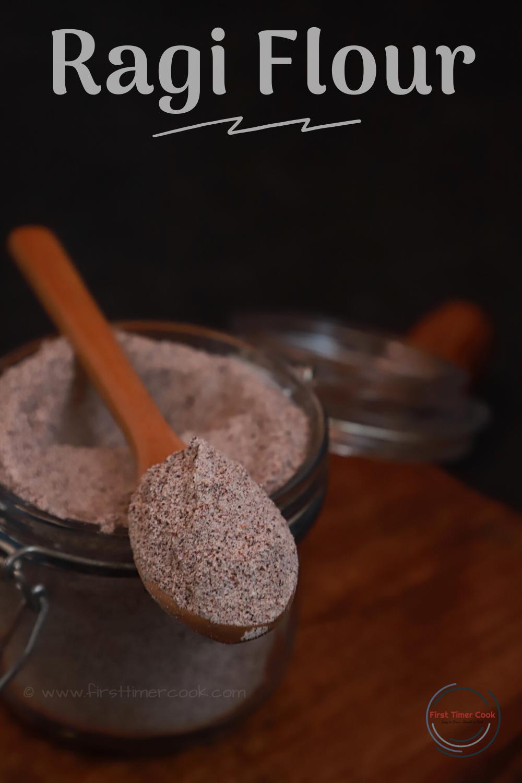 Homemade Ragi Flour (Sprouted Finger Millet Flour)