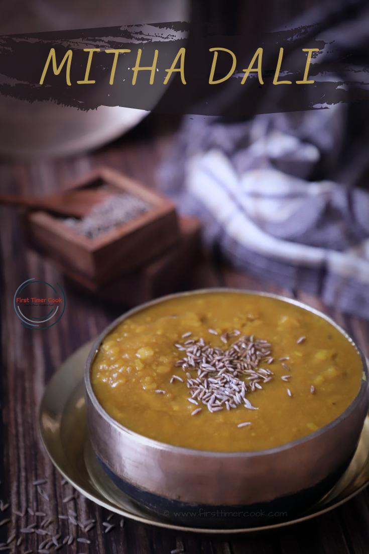 Mitha Dali | Sweet Dal from Jagannath Dham, Puri
