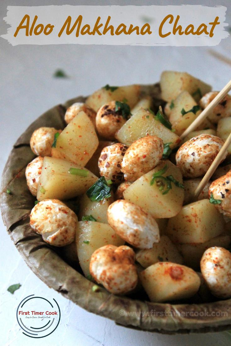 Potato Fox nut Chaat
