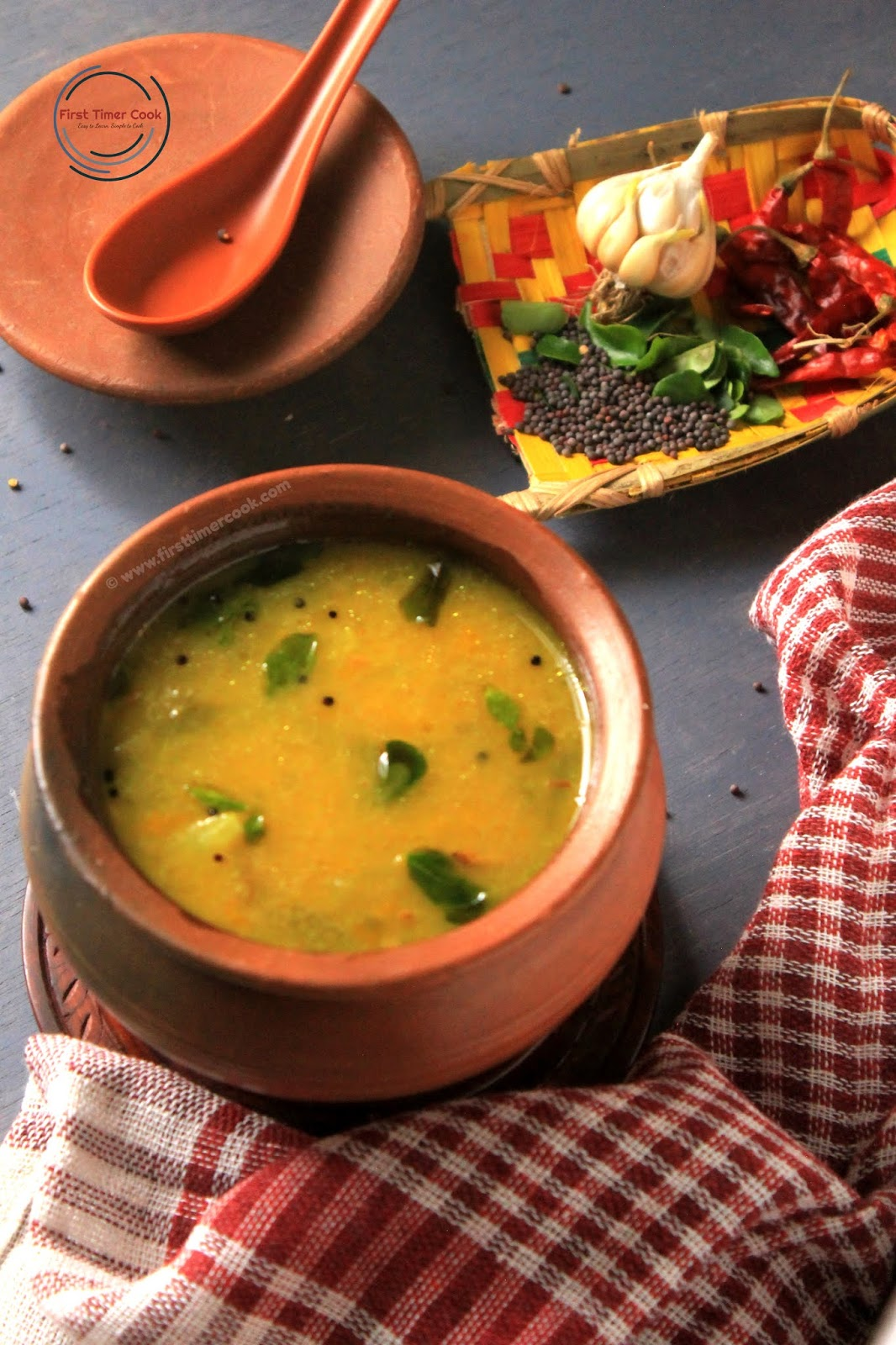 Soup of Fermented Rice Water with Vegetables