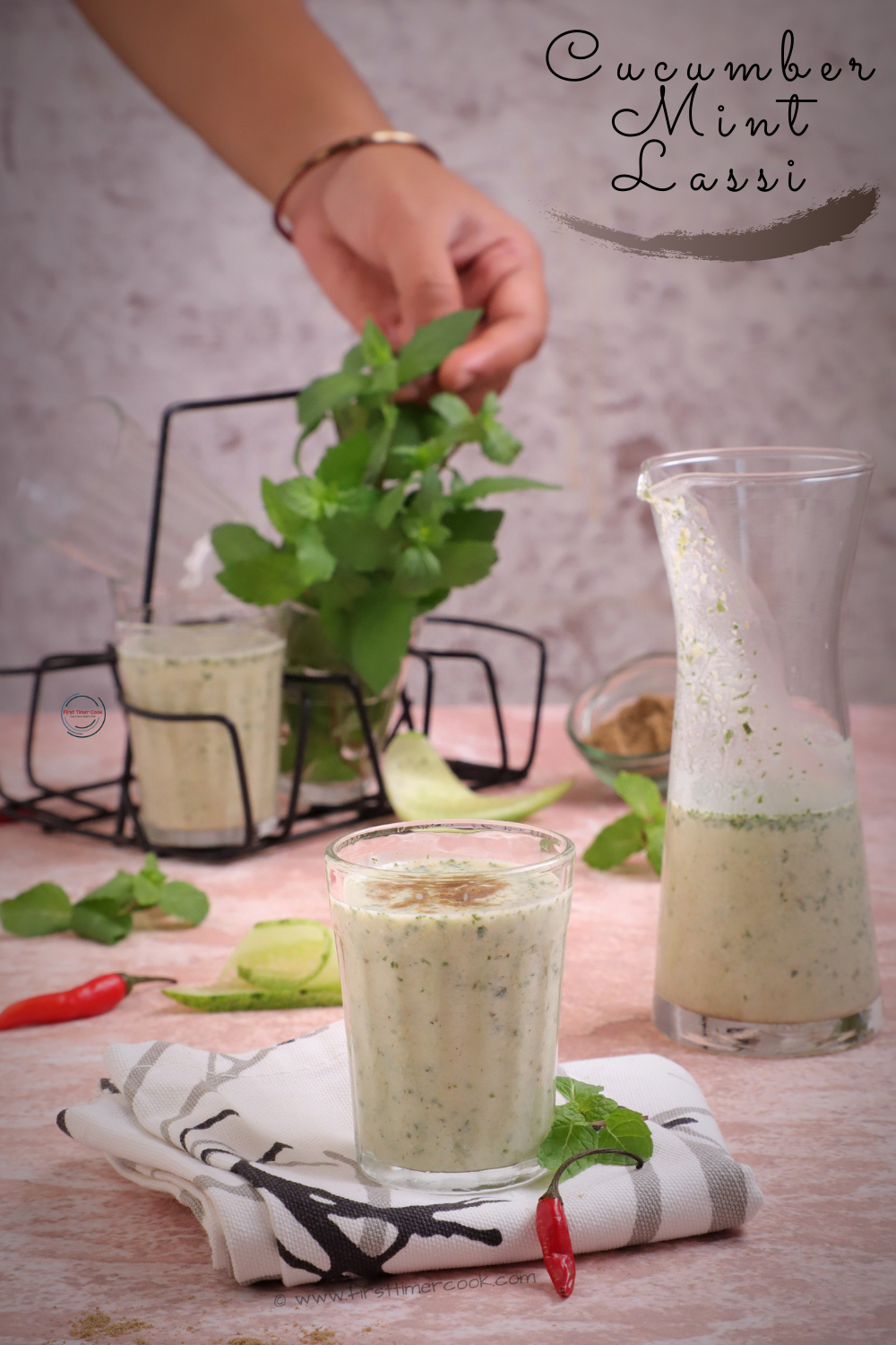 Cucumber Mint Lassi