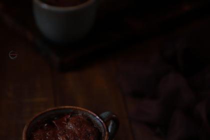 Chocolate Mug Cake 1